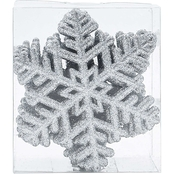 Gigi Seasons 20 ct. Glitter Snowflake Ornaments