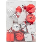 Gigi Seasons Shatter-Resistant Mini Shapes Ornament 34 pc. Set