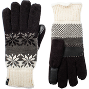 Isotoner Women's SmartDRI Snowflake Palm Gloves