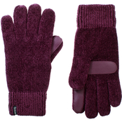 Totes Isotoner Smartouch Solid Chenille Gloves