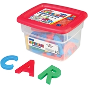 Educational Insights Alpha Magnets Jumbo Multicolored Uppercase Letters 42 pc. Set