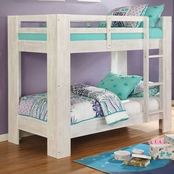 Furniture of America Suzie Collection Twin Bunk Bed