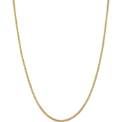 14K Yellow Gold  2.0mm Franco Chain Necklace