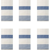 C & F Home Striped Kitchen Towels 6 pk.