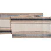 C & F Home French Blue Stripes Runner