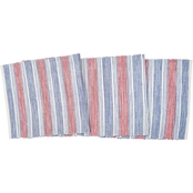 C & F Home Gideon Stripe Americana Table Runner