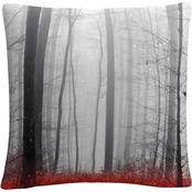 Trademark Fine Art Philippe Sainte-Laudy 'Little Red Carpet' Decorative Pillow