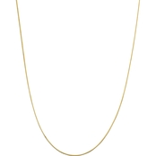 14K Yellow Gold 1.40mm Octagonal Snake Chain Necklace
