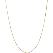 14K Yellow Gold 1.00mm Octagonal Snake Chain Necklace