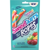 Sweetarts Soft and Chewy Ropes Twisted Rainbow Punch Candy 5 oz.