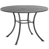Kettler 48 in. Round Mesh Top Table