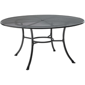 Kettler 60 in. Round Mesh Top Table