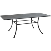 Kettler 57 x 35 in. Mesh Top Table