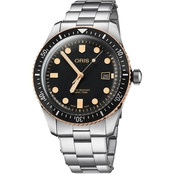 Oris Men's Divers Sixty Five Bronze Metal 42mm Watch 73377204354MB