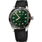 Oris Divers Sixty Five 40 Bi Color Rubber Watch 73377074357RS