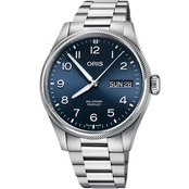 Oris Pro Pilot Day Date 44 Polished Metal 75277604063MB