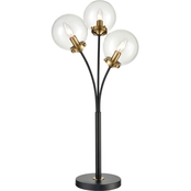 Dimond Lighting 32 in. Boudreaux 3-Light Table Lamp