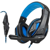 Enhance GX-H2 PC Gaming Headset with Adjustable Microphone