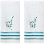 Saturday Knight LTD Ocean Watercolor Hand Towel 2 pk.
