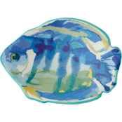 Saturday Knight LTD Ocean Watercolor Soap Dish, Multi