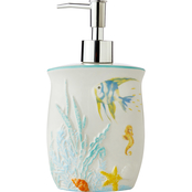 Saturday Knight LTD Ocean Watercolor Lotion/ Soap Dispenser, Multi