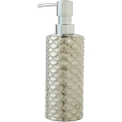 Saturday Knight LTD Koi Lotion/ Soap Dispenser, Silver
