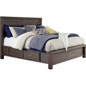 Signature Design by Ashley Dellbeck Collection Panel Storage Bed