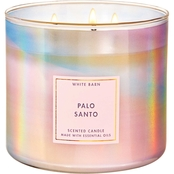 Bath & Body Works Living the Good Life Palo Santo Iridescent 3 Wick Candle