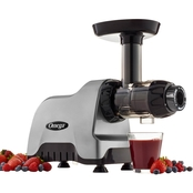 Omega Compact Slow Speed Masticating Juicer and Nutrition System