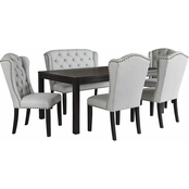 Signature Design by Ashley Jeanette 6 pc. Dining Set