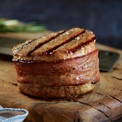 Kansas City Steak Company Qty. 6 (6 oz.) Filet Mignon with Hickory Bacon
