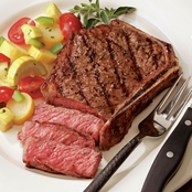 Kansas City Steak Company Qty. 6 (16 oz.) Bone In Kansas City Strip Steaks