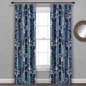Lush Decor Linear Tree Insulated Rod Pocket Blackout Curtain 38x84 in. 2 pc. Set