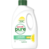 Cascade Free & Clear Gel Dishwasher Detergent Lemon Essence 60 oz.