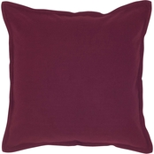 Rizzy Home Solid Color 20 in. x 20 in. Polyester Filled Pillow