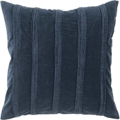 Rizzy Home Stripes 22 in. x 22 in. Polyester Filled Pillow