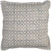 Rizzy Home Ditsy 22 x 22 in. Polyester Filled Pillow