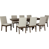 Signature Design by Ashley Dellbeck 9 pc. Dining Set
