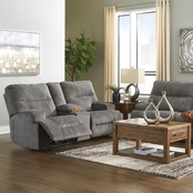 Signature Design by Ashley Coombs Reclining Sofa and Loveseat