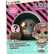 Galerie LOL Surprise Foil Wrapped Chocolate Sphere with Marshmallow Inside 2.12 oz.