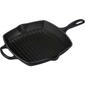 Le Creuset Signature 10.25 in. Square Skillet Grill