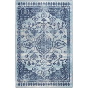 Mohawk Home Clipstone Blue 5 x 8 ft. Area Rug