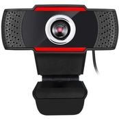 Adesso Cybertrack H3 720P USB Webcam With Built In Microphone
