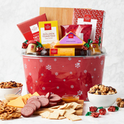 Hickory Farms Holiday Treats and Snacks Gift Basket