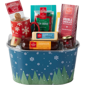 Hickory Farms Fest Forest Gift Basket