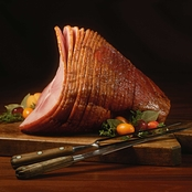 Kansas City Steak Co 7.25-8.5 lb. Hickory Smoked Spiral Sliced Ham