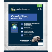 Serta Comfy Sleep Mattress Pad with Allergen Barrier