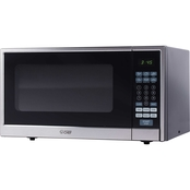 Commercial Chef 1.1 cu. ft. Counter Top Microwave