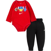 Nike Infant Boys Bodysuit and Joggers 2 pc. Set