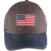 Black Clover USA Flag Patch Cap